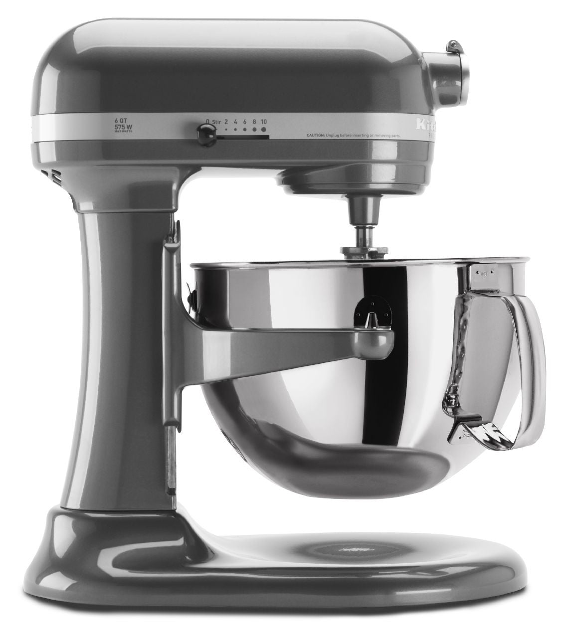 Kitchenaid 6 Qt. Professional 600 Series with Pouring Shield - Pearl Metallic KP26M1XPM
