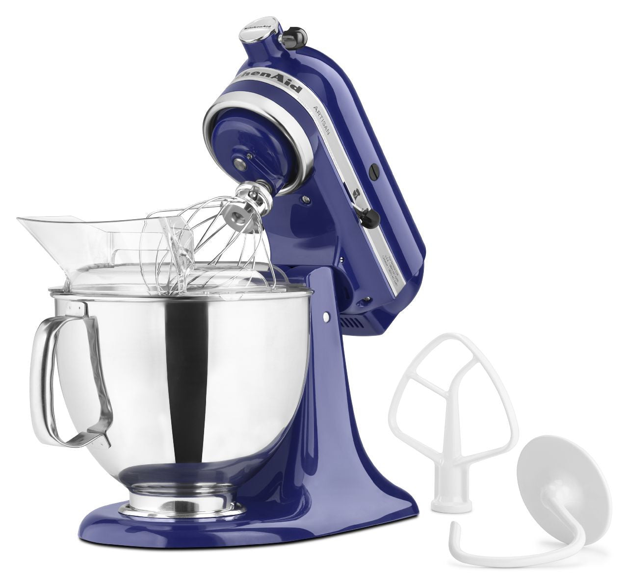 Kitchenaid 5 Qt. Artisan Series with Pouring Shield - Cobalt Blue KSM150PSBU