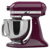 Kitchenaid 5 Qt. Artisan Series with Pouring Shield - Boysenberry KSM150PSBY