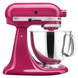 Kitchenaid 5 Qt. Artisan Series with Pouring Shield - Cranberry KSM150PSCB