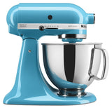 Kitchenaid 5 Qt. Artisan Series with Pouring Shield - Crystal Blue KSM150PSCL