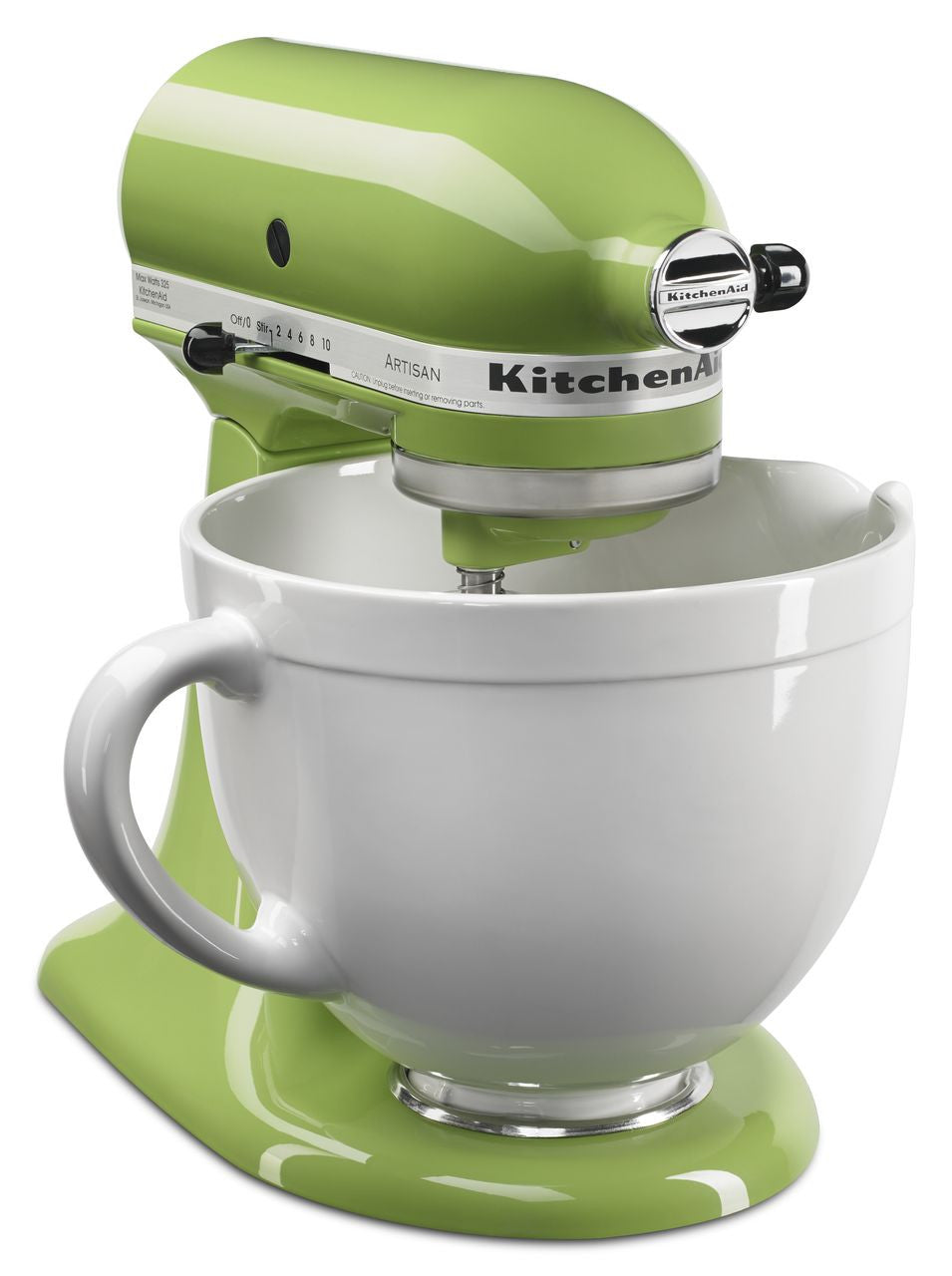 Kitchenaid 5 Qt. Artisan Series with Pouring Shield - Green ...