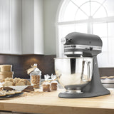 Kitchenaid 5 Qt. Artisan Series with Pouring Shield - Imperial Grey KSM150PSGR