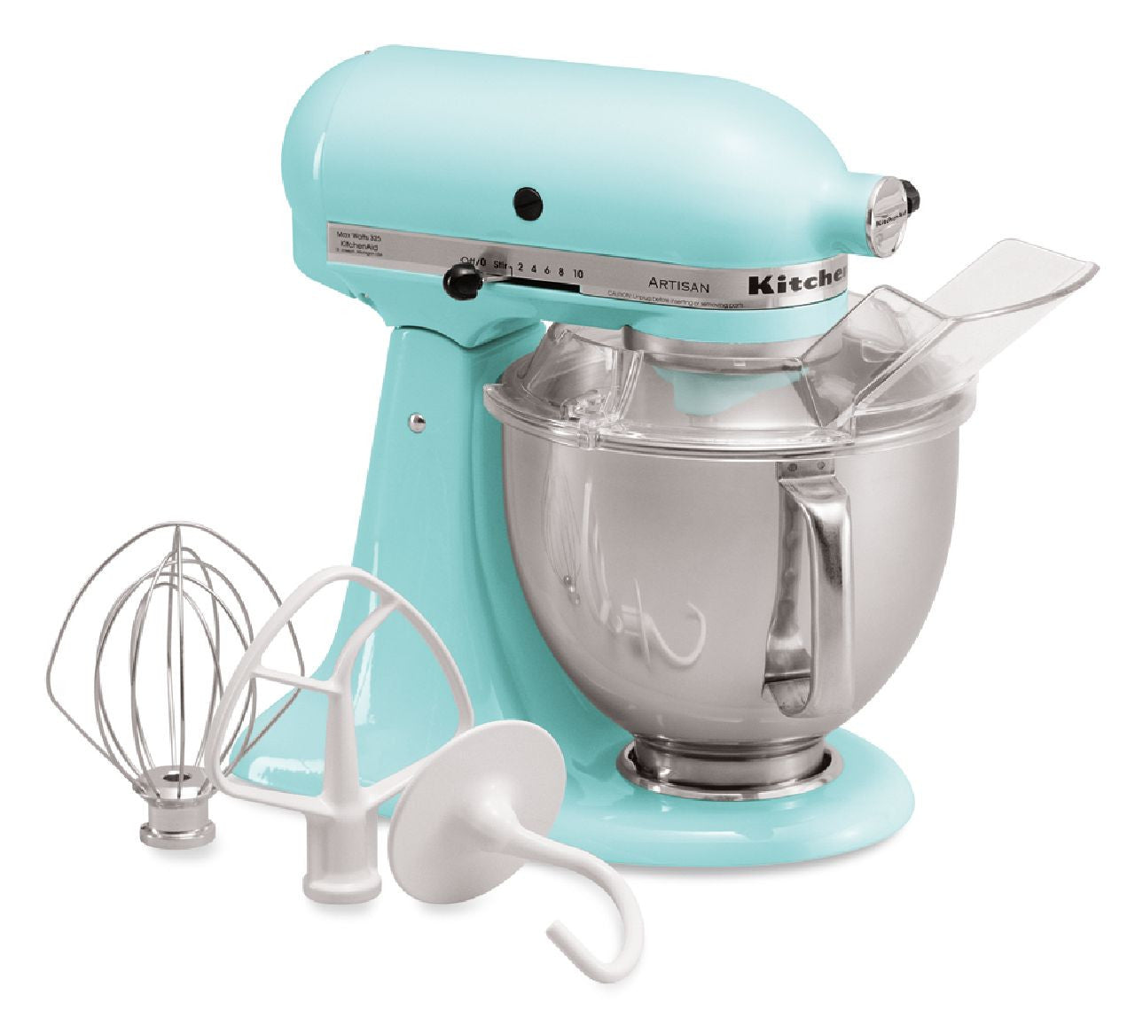 Kitchenaid 5 Qt. Artisan Series with Pouring Shield - Ice Blue KSM150PSIC