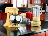 Kitchenaid 5 Qt. Artisan Series with Pouring Shield - Majestic Yellow KSM150PSMY
