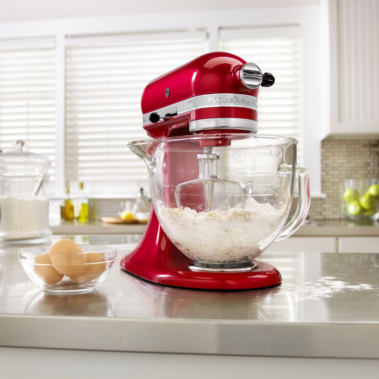 Kitchenaid 5 Qt Artisan Design Series With Glass Bowl Ksm155gb
