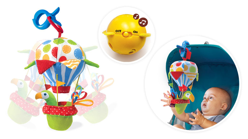 Yookidoo Light 'N' Musical Fun Ball 40124