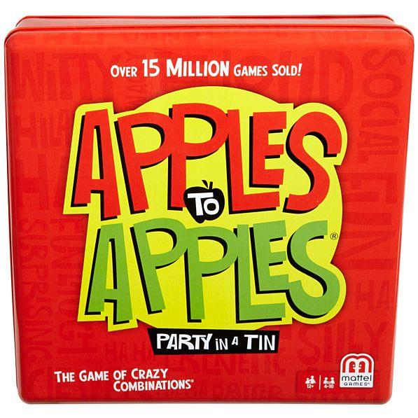 Mattel APPLES to APPLES® Party Box Tin - The Game of Hilarious Comparisons! N1488