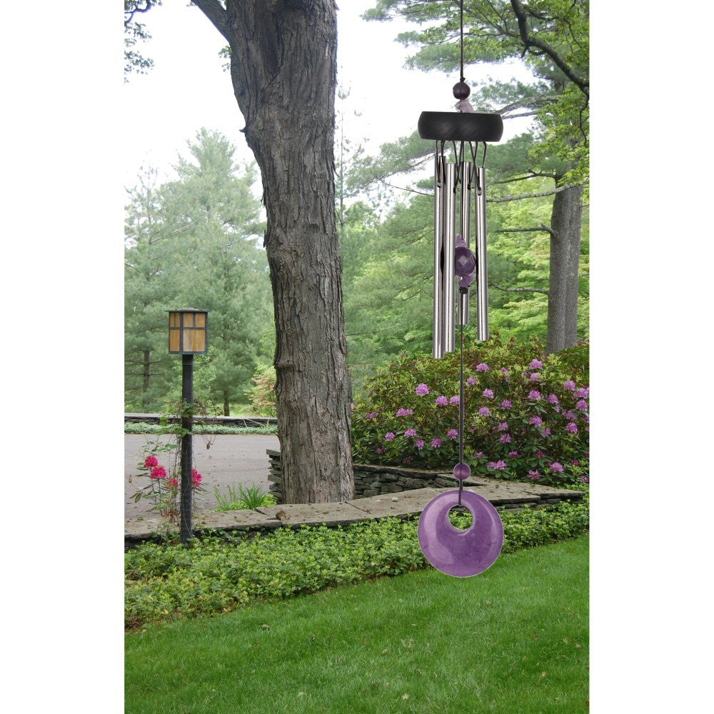 Woodstock Precious Stones Chime - Amethyst PSAM