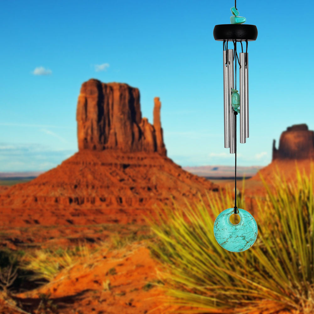 Woodstock Precious Stones Chime - Turquoise PST