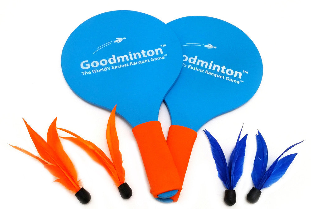 VIAHART Goodminton The World's Easiest Racket Game