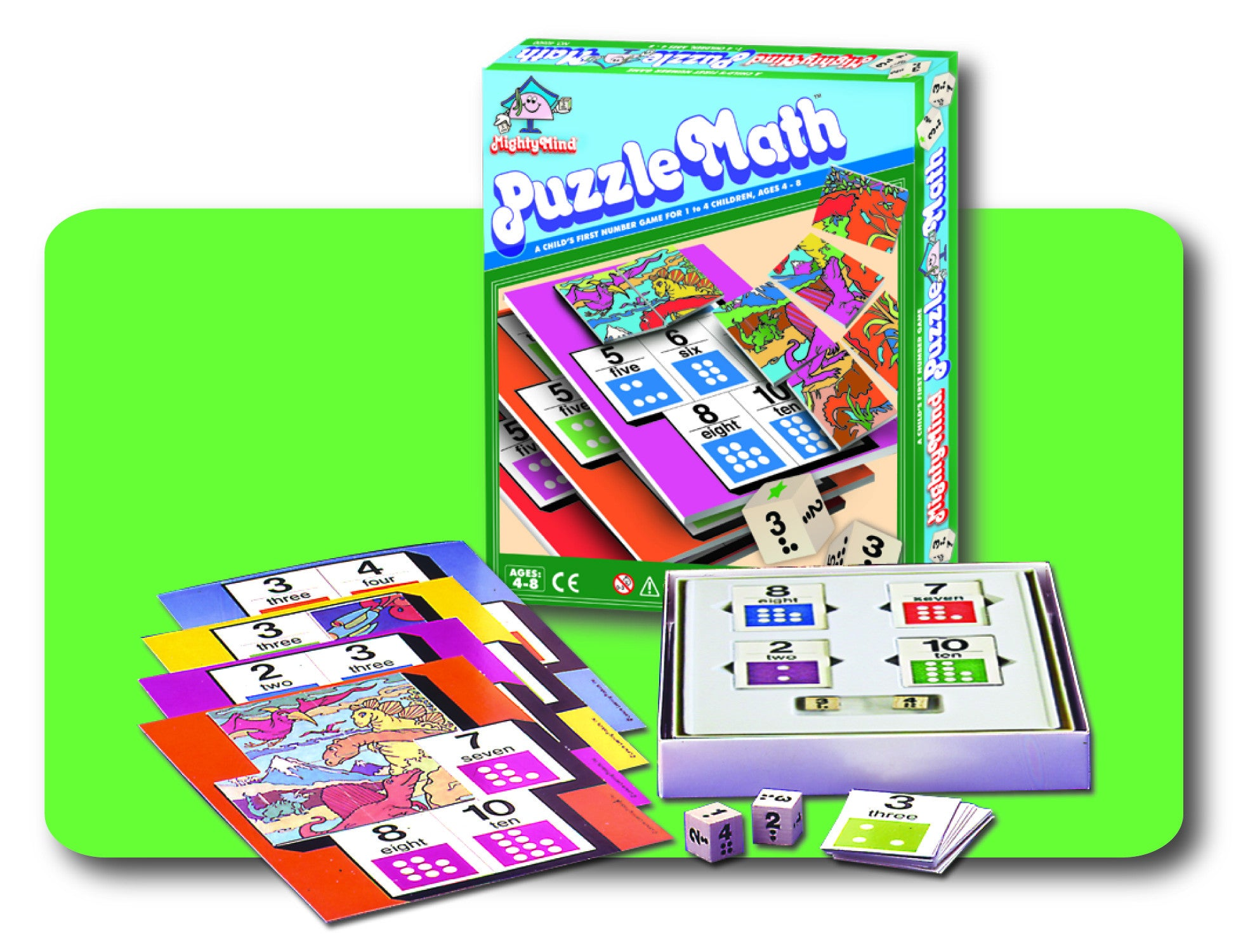 Leisure Learning Products MightyMind Puzzle Math 40500
