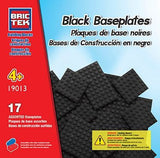 Brictek Baseplates 17 assorted - black 19013