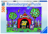 Ravensburger Adult Puzzles 500 pc Puzzles - Dogs at Twilight 14689