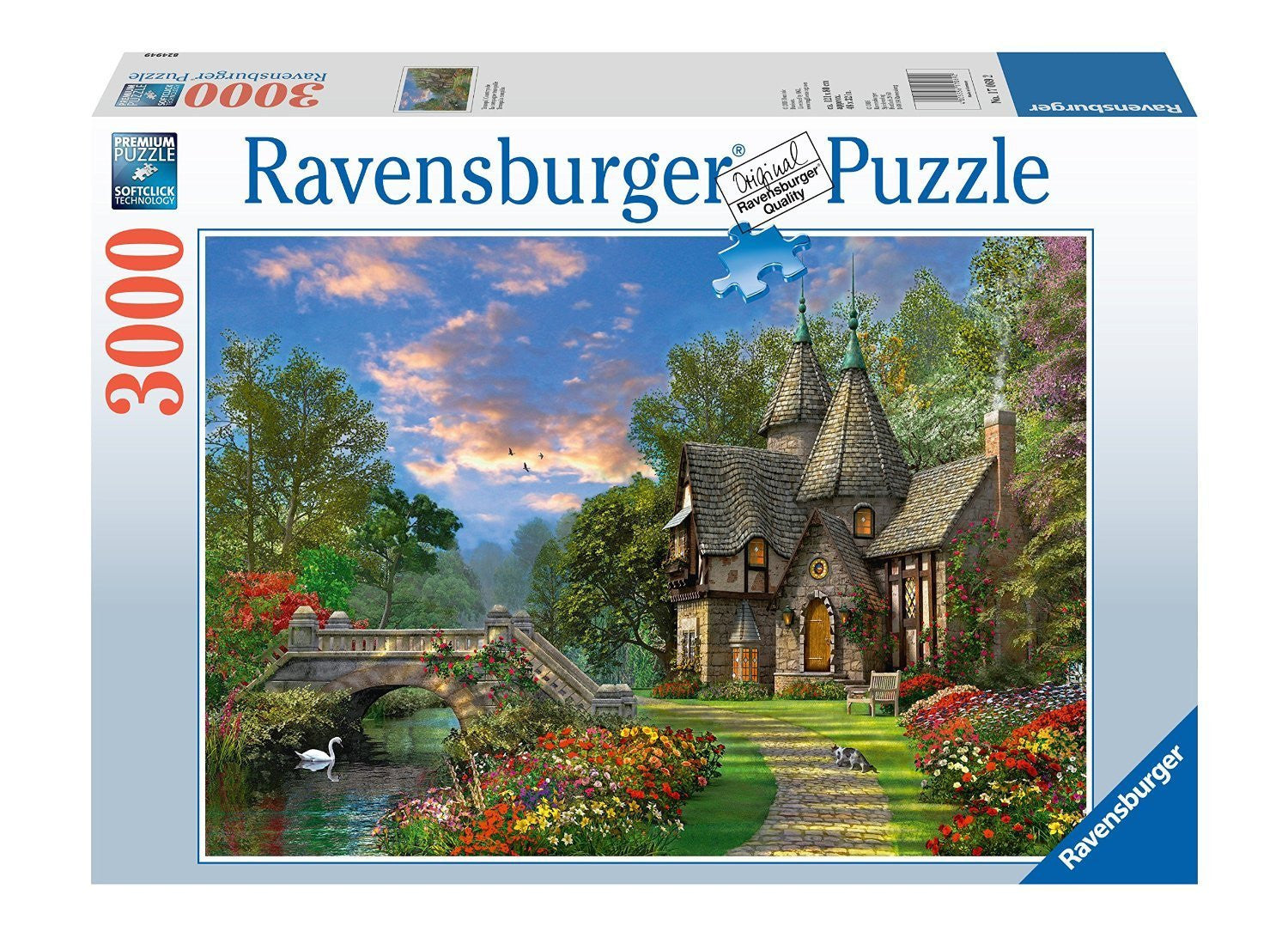 Ravensburger Adult Puzzles 3000 pc Puzzles - Tranquil Countryside 17069