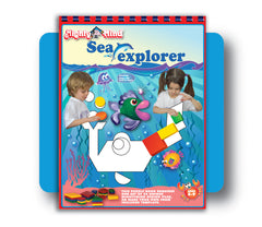 Leisure Learning Products Aquarium Adventure Design Book 40113