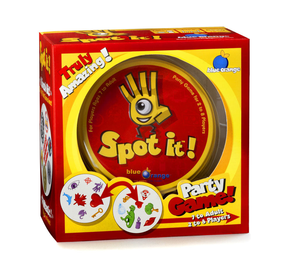 Blue Orange Games Spot it! (Box Packaging) 00411