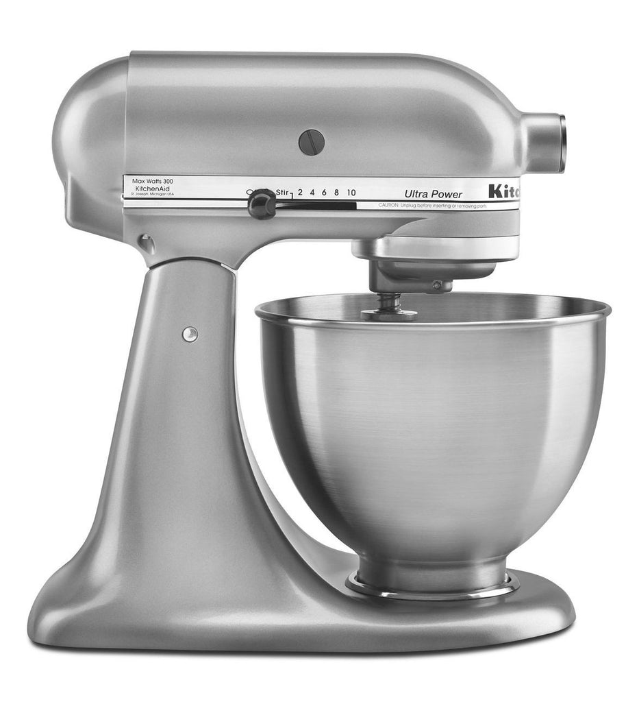 Kitchenaid 4.5 Qt. Ultra Power Series Stand Mixer - Contour Silver KSM95CU