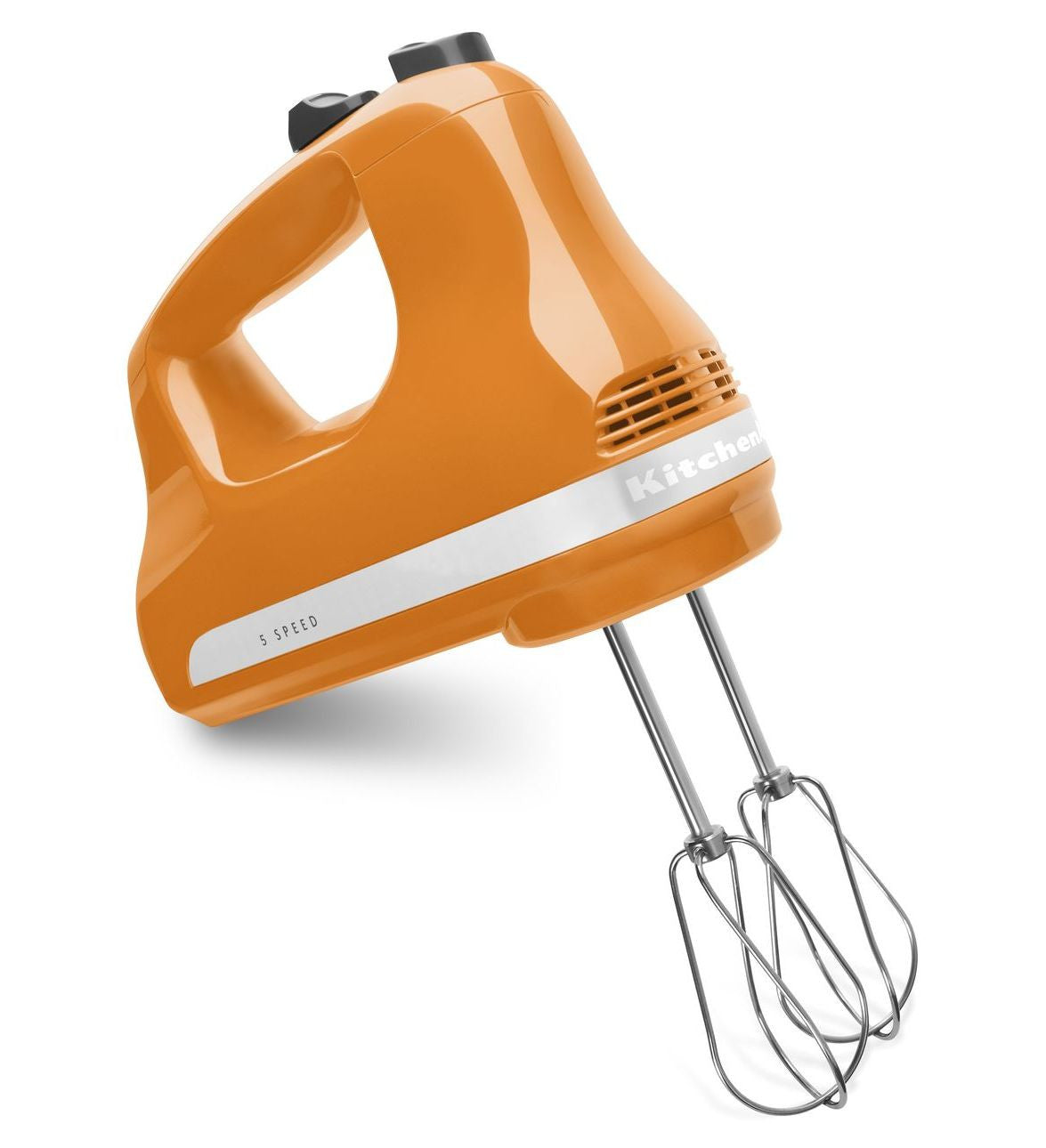 Kitchenaid 5-Speed Slide Control Ultra Power Hand Mixer - Tangerine KHM512TG