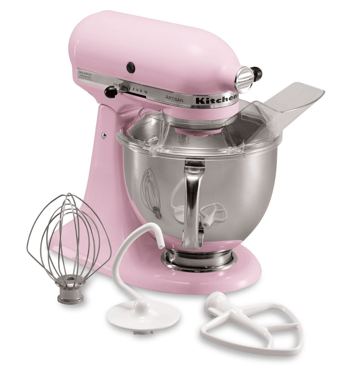 Kitchenaid 5 Qt. Artisan Series with Pouring Shield - Pink KSM150PSPK
