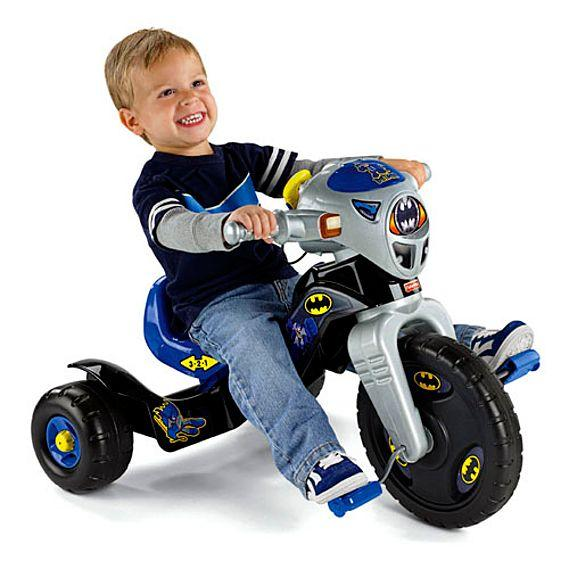 Fisher Price DC Super Friends™ Batman™ Lights & Sounds Trike W9981