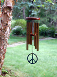 Woodstock Peace Chime - Small, Bronze WPCB