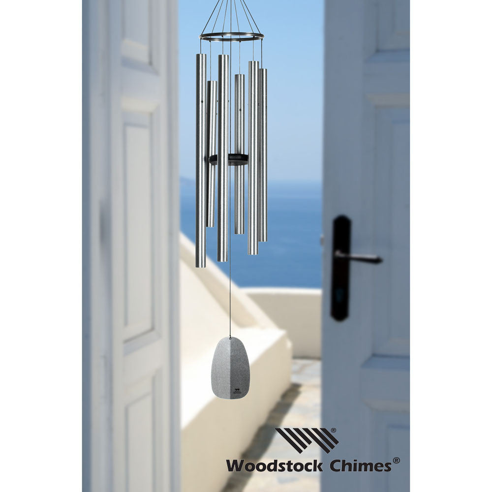 Woodstock Windsinger Chimes of Orpheus - Silver WWOS