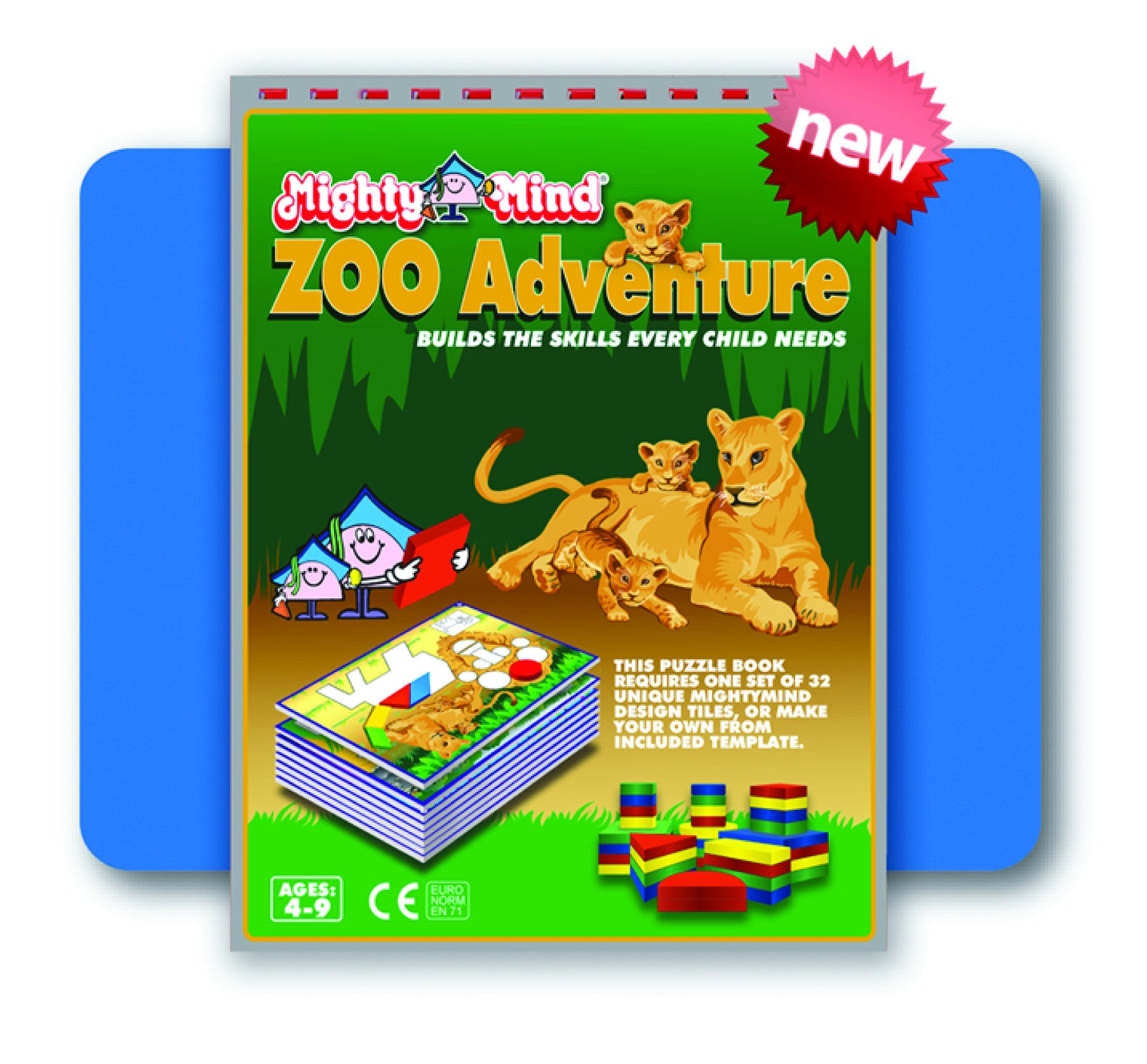 Leisure Learning Products Zoo Adventure Design book 40114