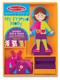 Melissa & Doug My Friend Molly - Magnetic Dress Up 5160