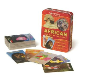 GeoToys Worldwise Africa Card Game