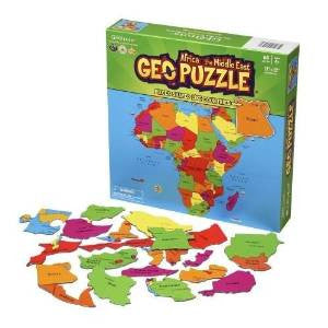 GeoToys Geopuzzle Africa And The Middle East