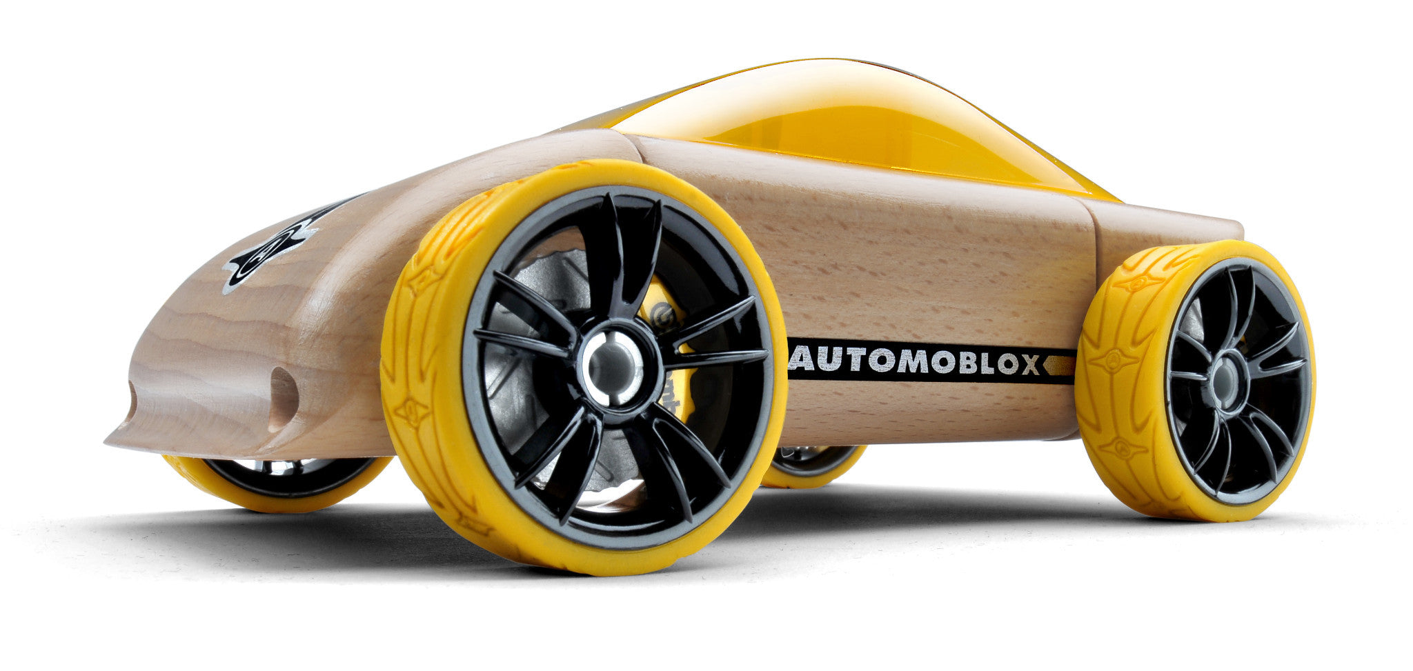Originals - C9 Sportscar Yellow AU001 by Automoblox