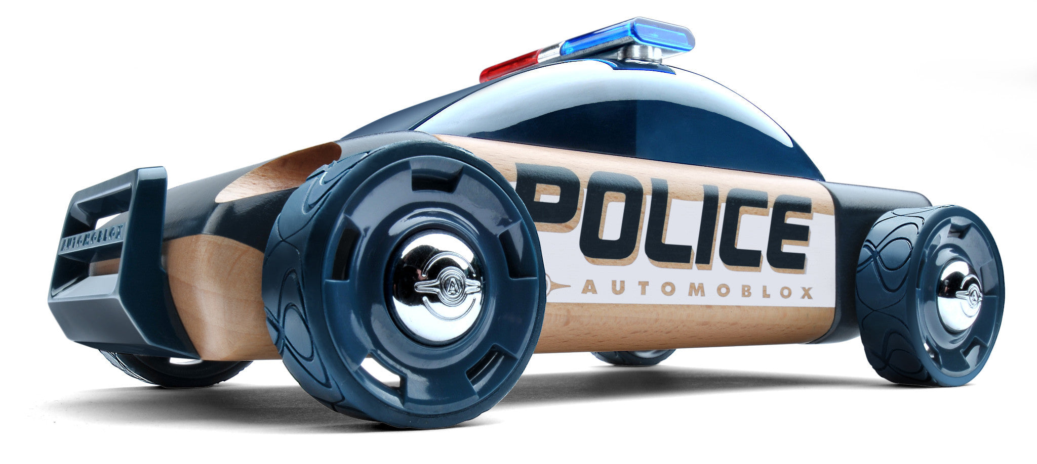 Originals - S9 Police Car Dark Blue AZ001 by Automoblox
