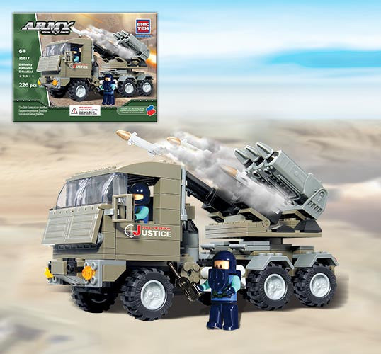 Brictek Rocket Launcher Justice 15017