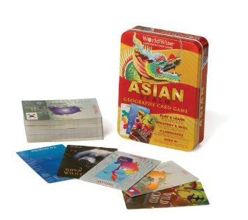 GeoToys Worldwise Asia Card Game