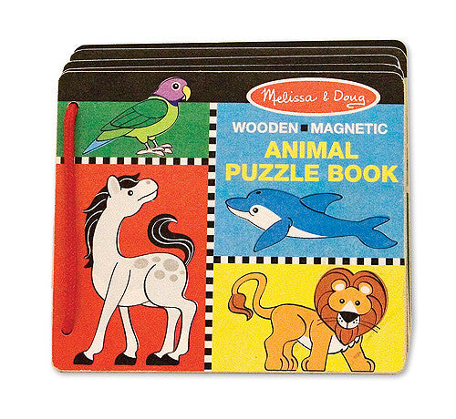 Melissa & Doug Animal Puzzle Book 4591