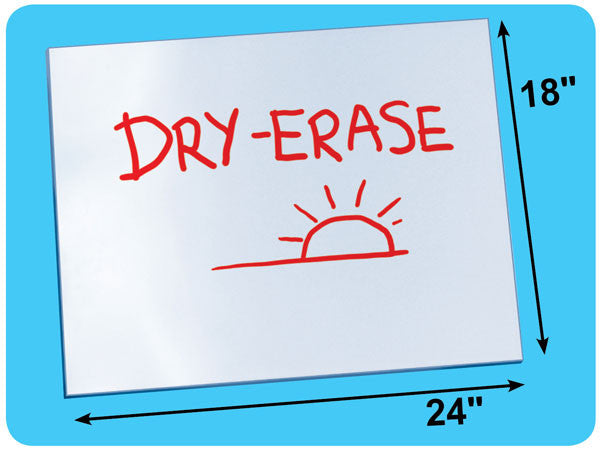 "2-Sided Dry-Erase Board - Oversized 18"" x 24""  816"