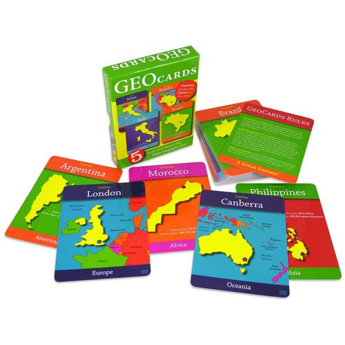 GeoToys Geocards World