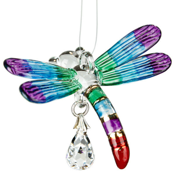 Fantasy Glass Dragonfly, Summer Rainbow