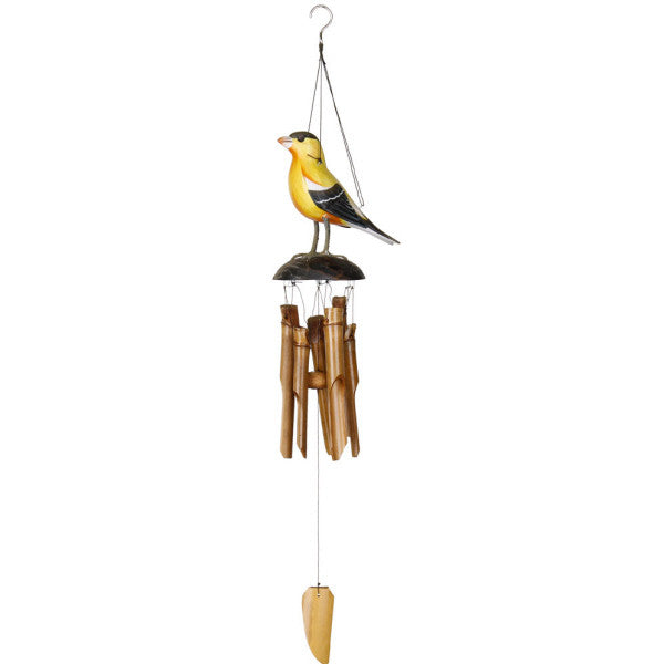 Goldfinch Bamboo Chime