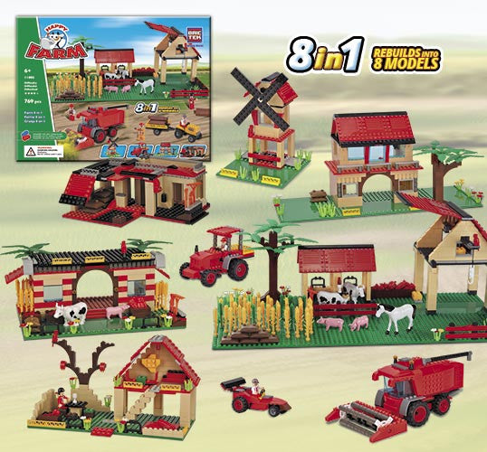 Brictek Farm 8-in-1 11805