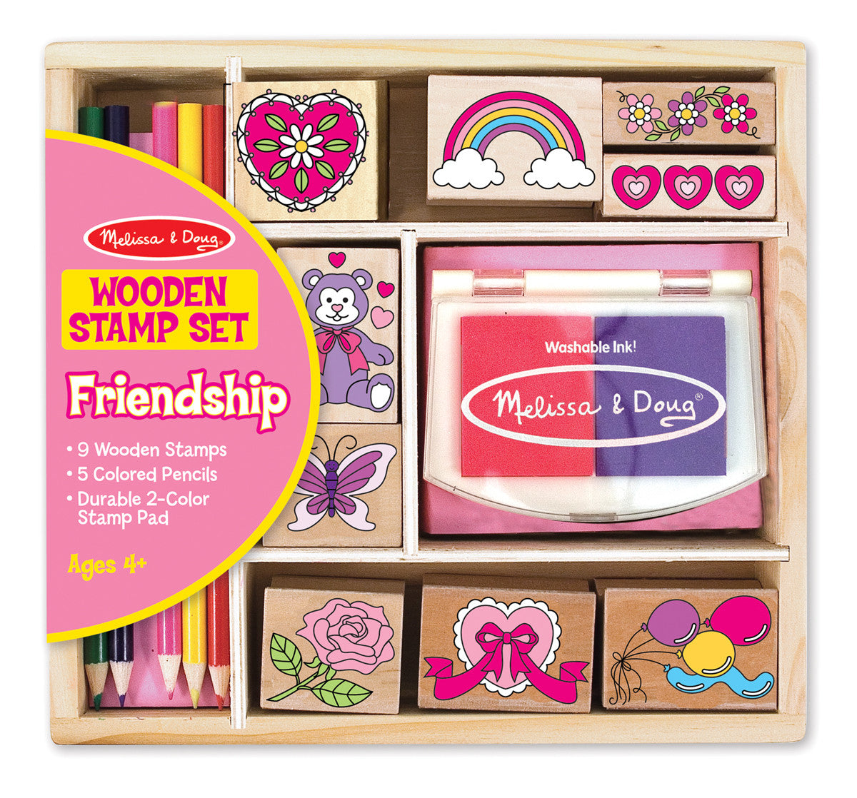 Melissa & Doug Friendship Stamp Set 1632