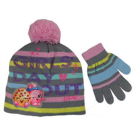 Shopkins - Shopkins 'Girls Day Out' Hat and Glove Set