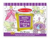 Melissa & Doug Jumbo Coloring Pad - Princess &