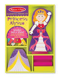 Melissa & Doug Princess Alyssa - Magnetic Dress Up