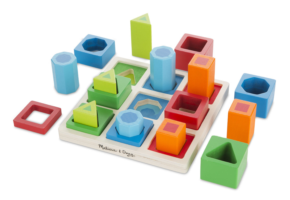 Melissa & Doug Shape Sequence Sorting Set 582