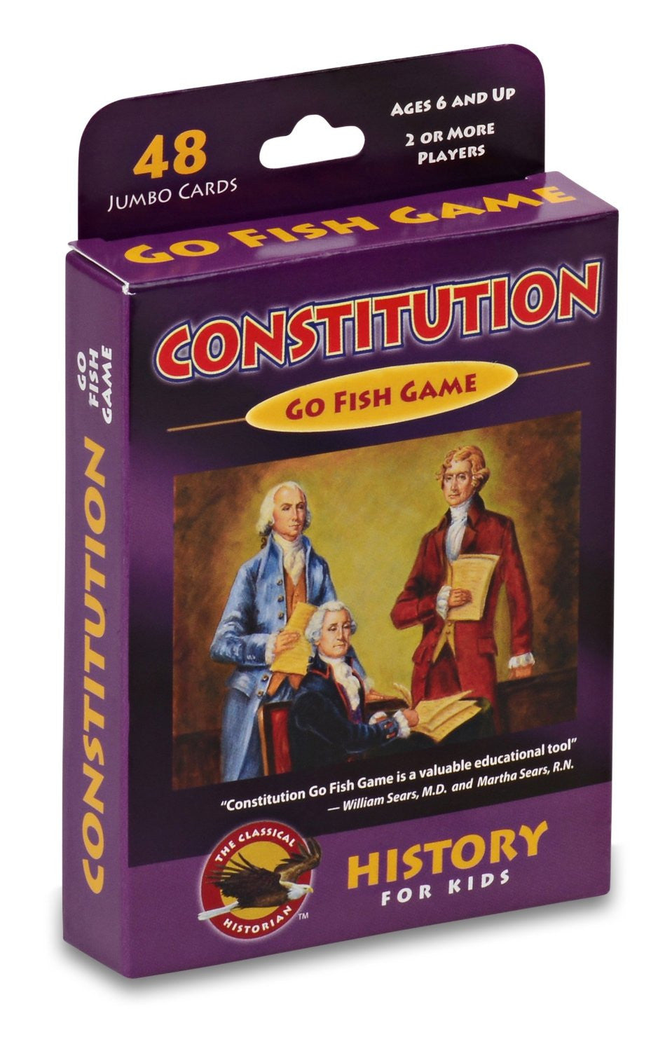GeoToys Constitution Go Fish Game