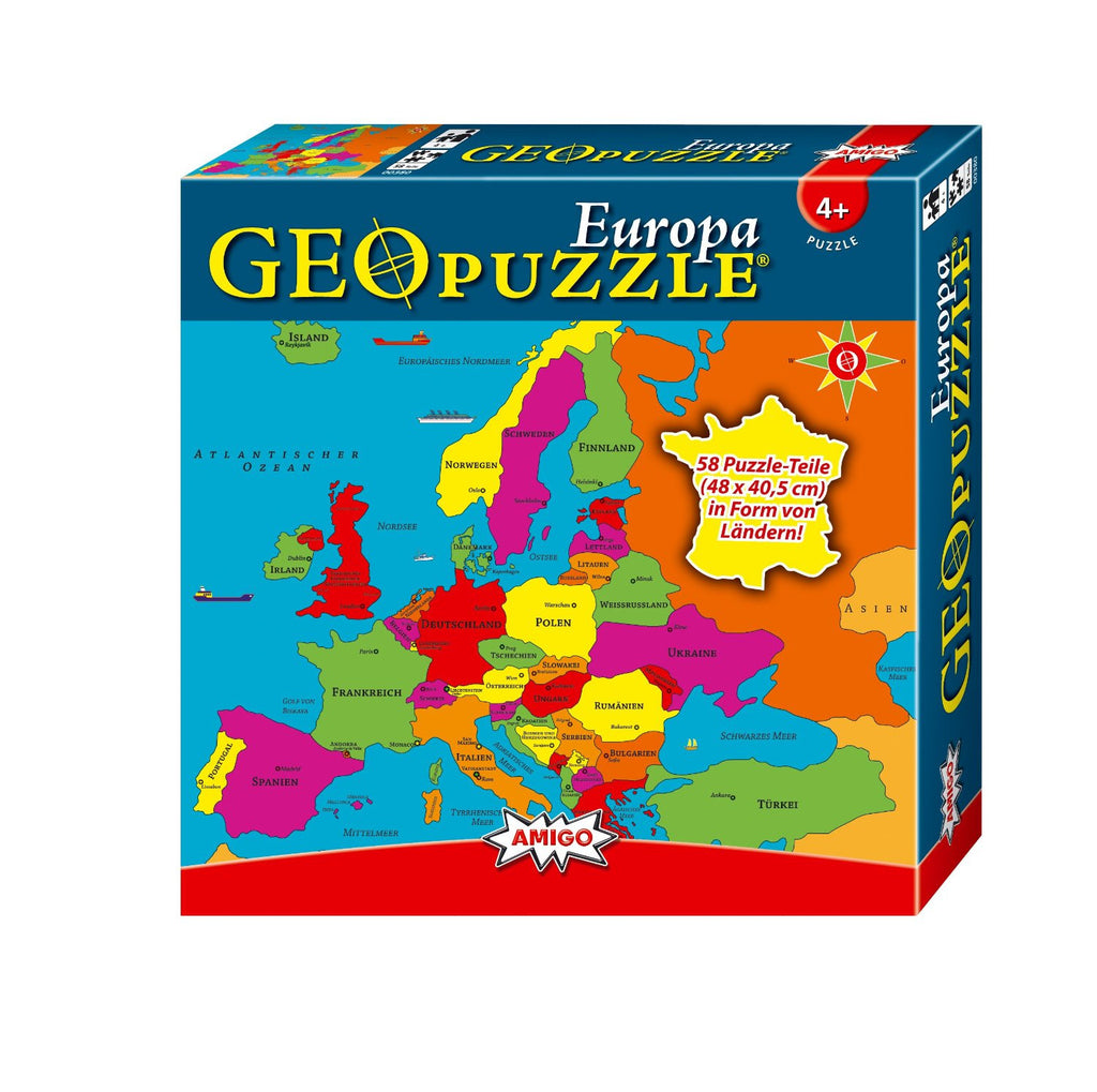 GeoToys Geopuzzle Europe (German)