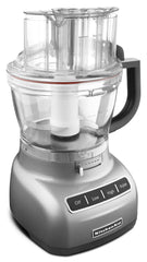 KitchenaidAid 13-Cup Food Processor with ExactSlice System - Contour Silver KFP1333CU