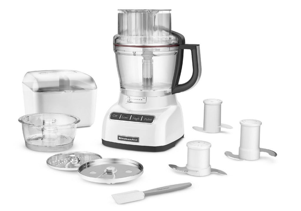 KitchenaidAid 13-Cup Food Processor with ExactSlice System - White KFP1333WH